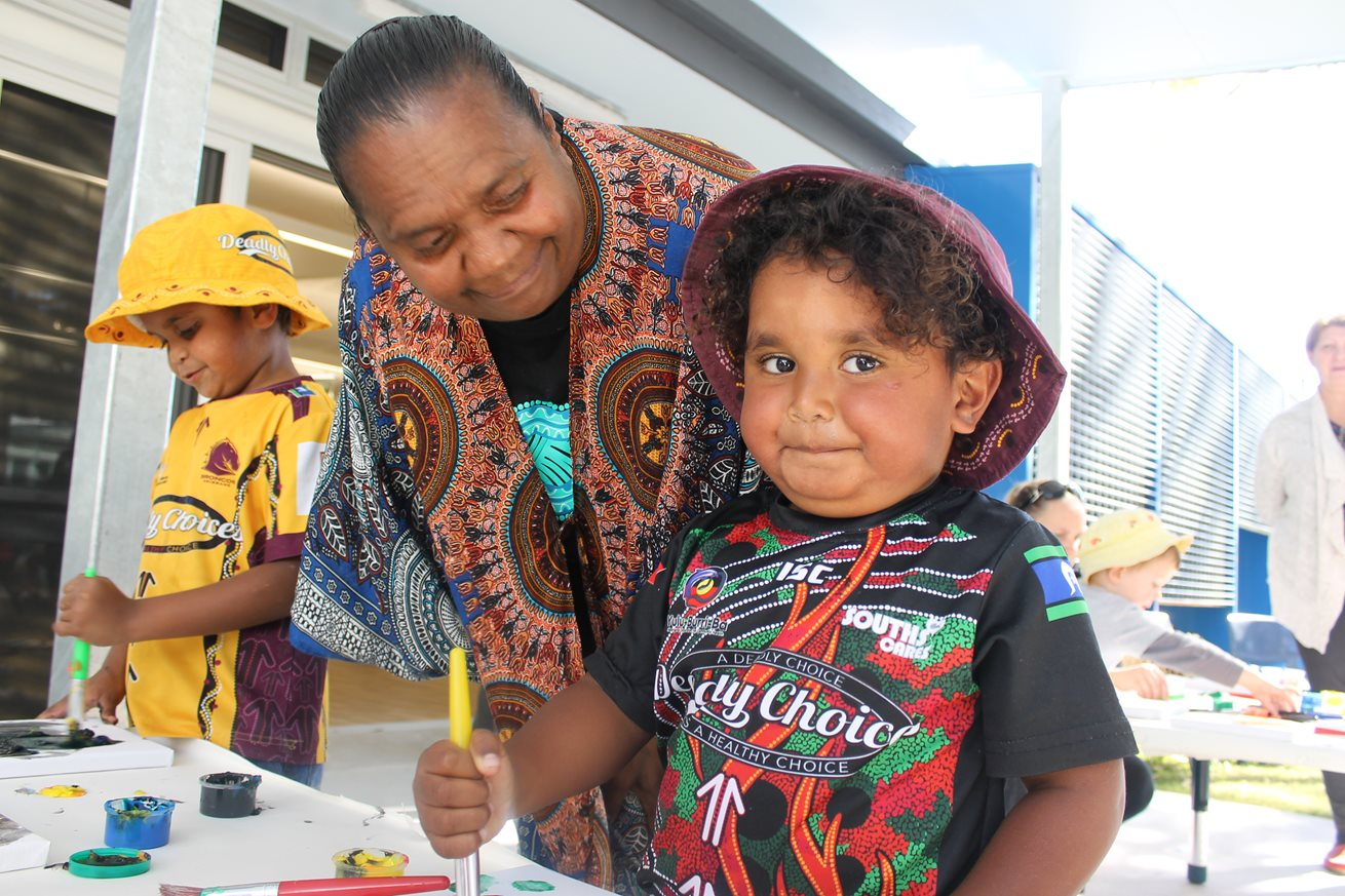 Community unites to celebrate Aboriginal Children's Day