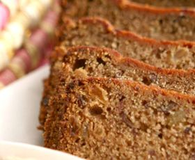 Scrumptious banana and date loaf