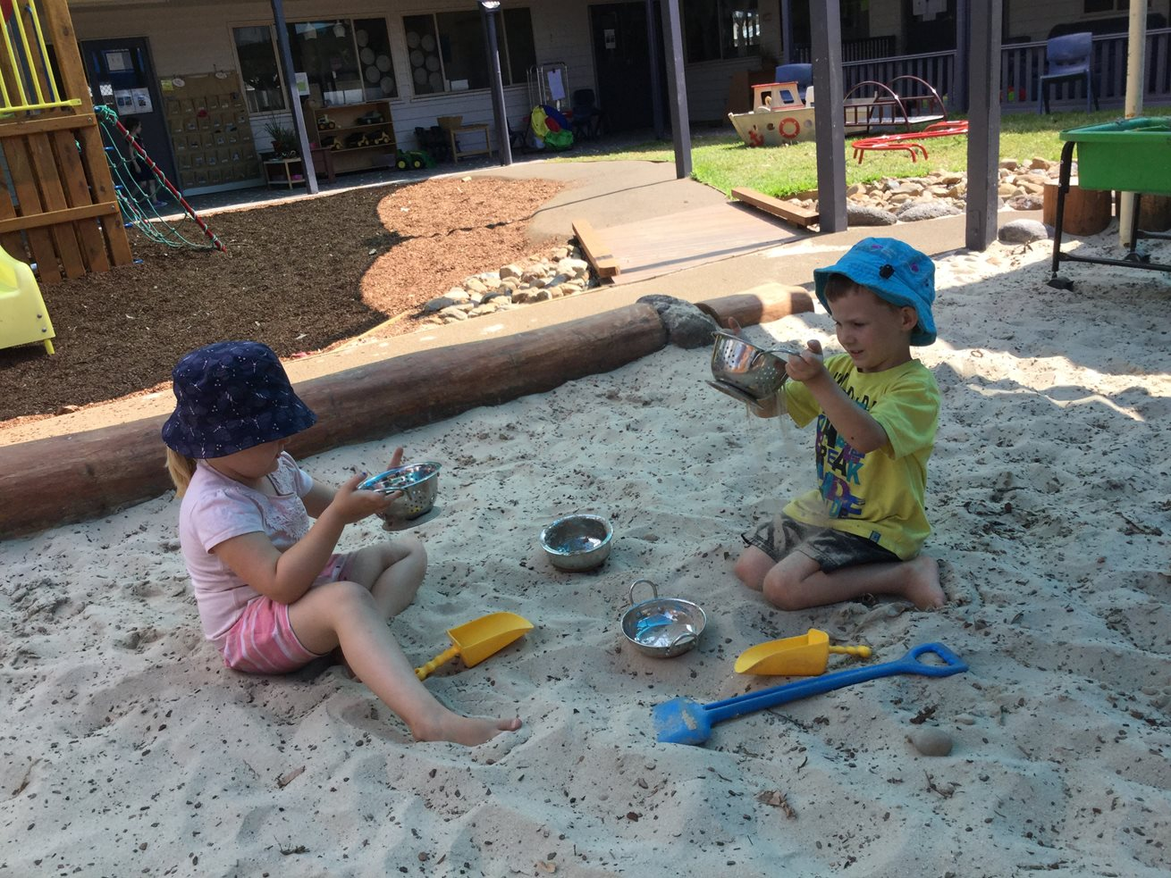 Goodstart children enjoy new nature playground