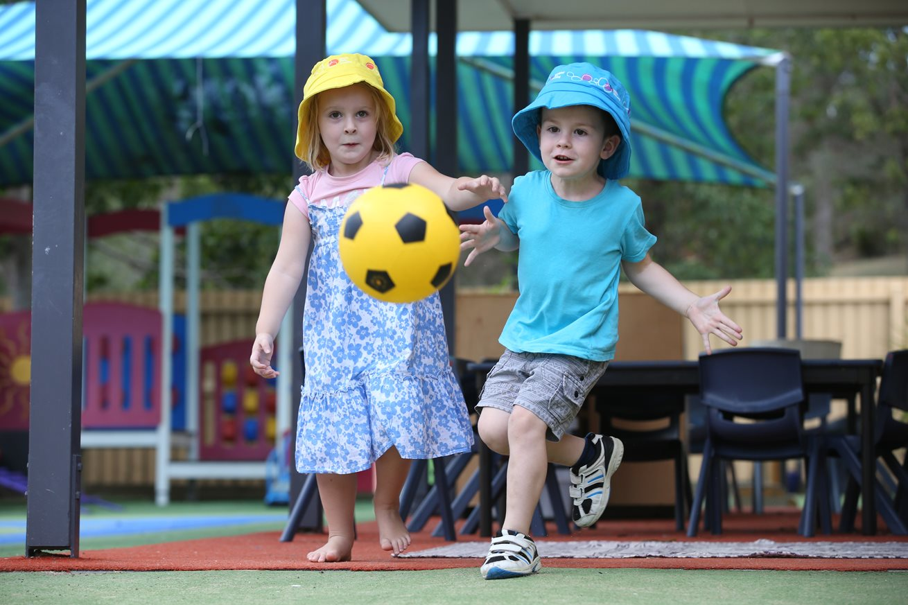 Children benefit when physical activity is part of early learning