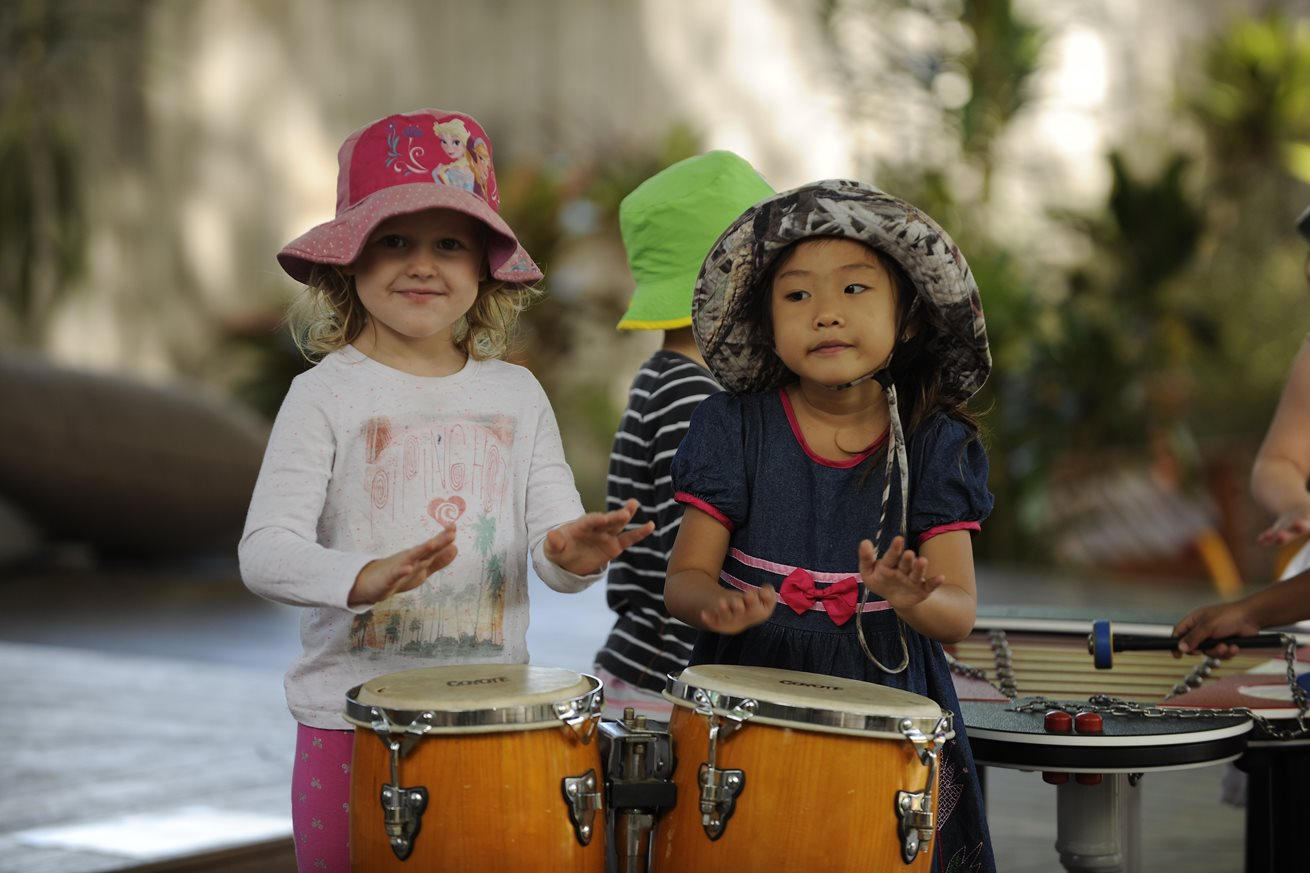 Music and movement program a hit with children