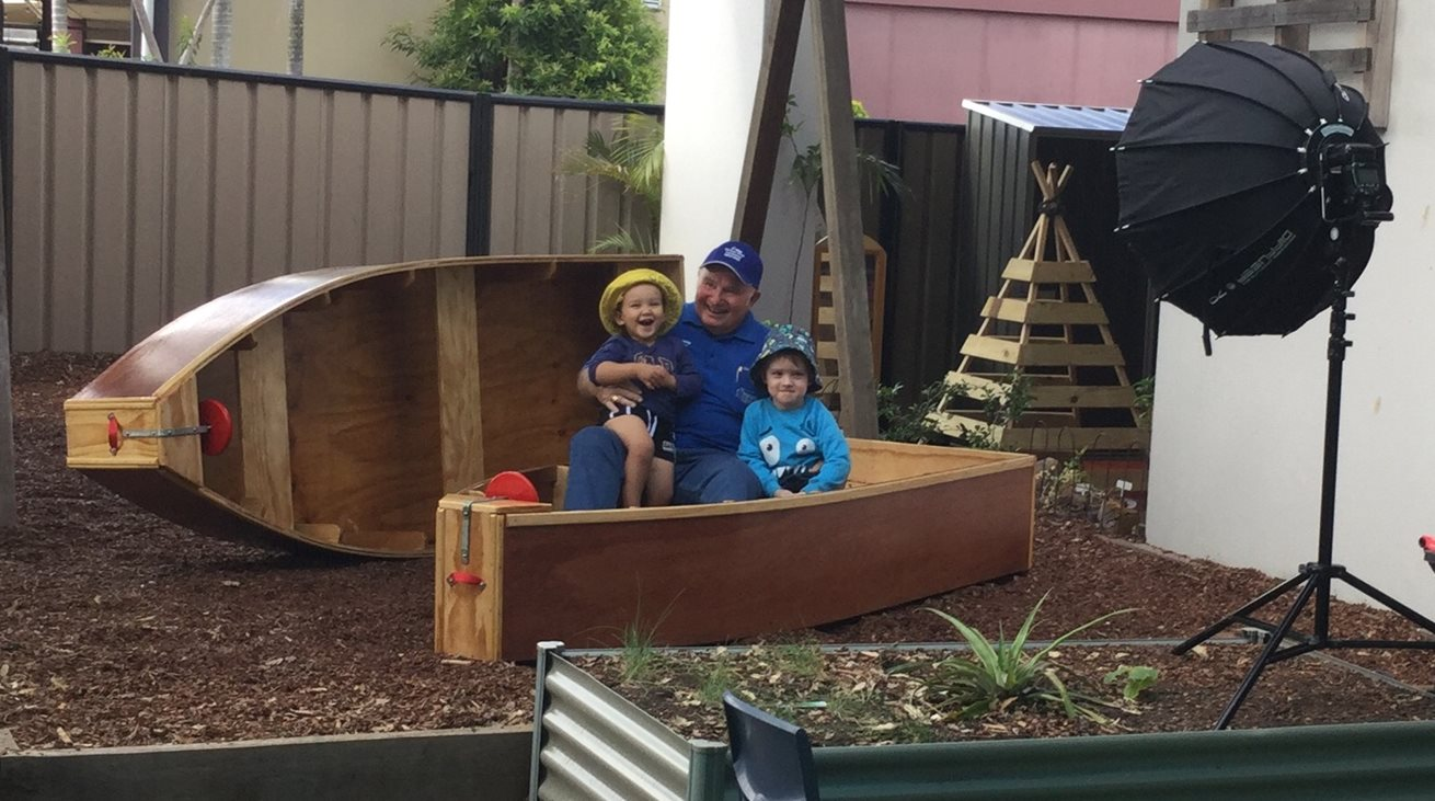 Goodstart Belmont children set sail