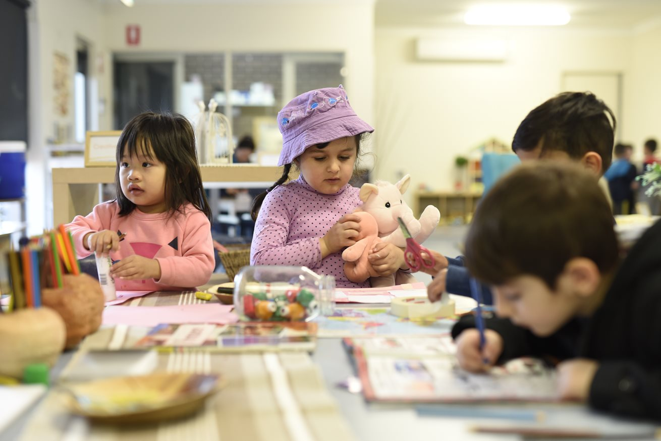Art studios sparking creativity at Goodstart Prairiewood