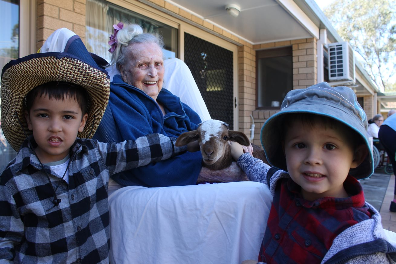 Young and old come together for Ekka fun