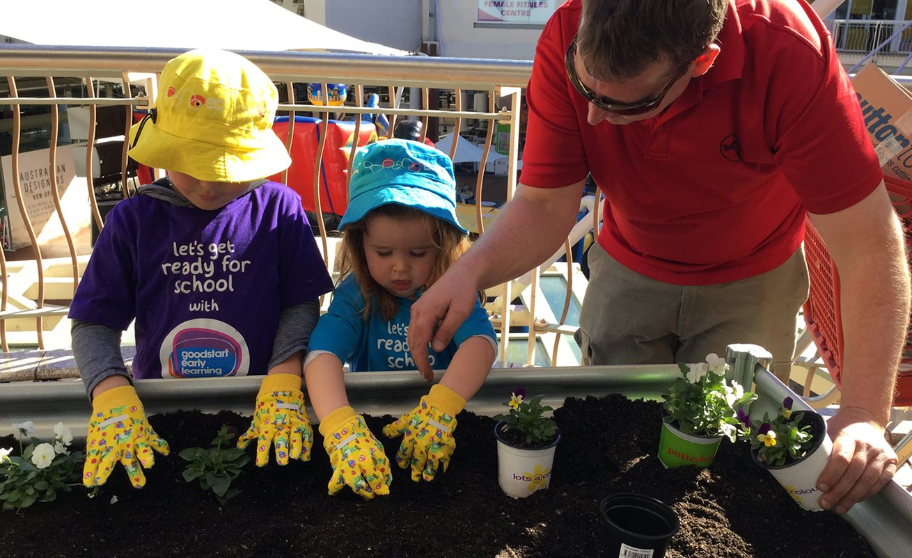 Growing food with love in Brookvale's community garden