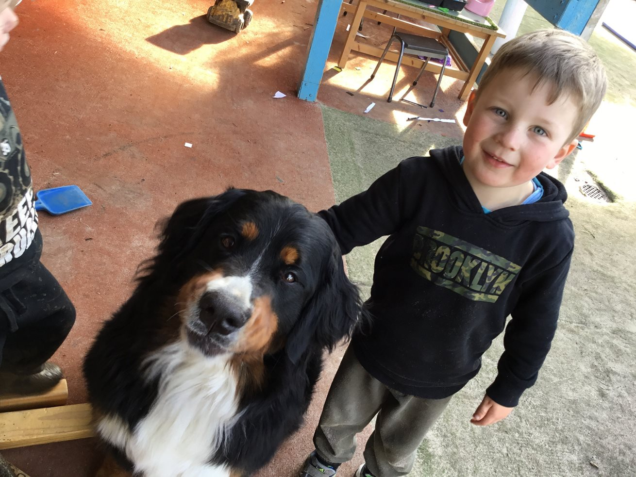 Therapy dog a first for Goodstart