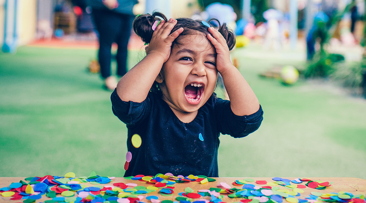 Can you tame a toddler's emotions?