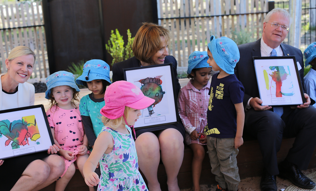Goodstart opens state-of-the-art early learning centre at ANU