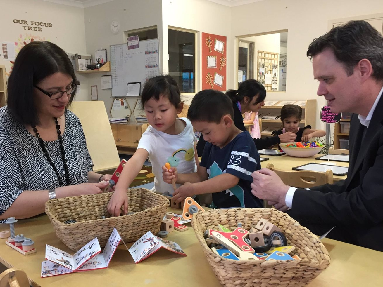 Grant allows more kindy places at Goodstart centres