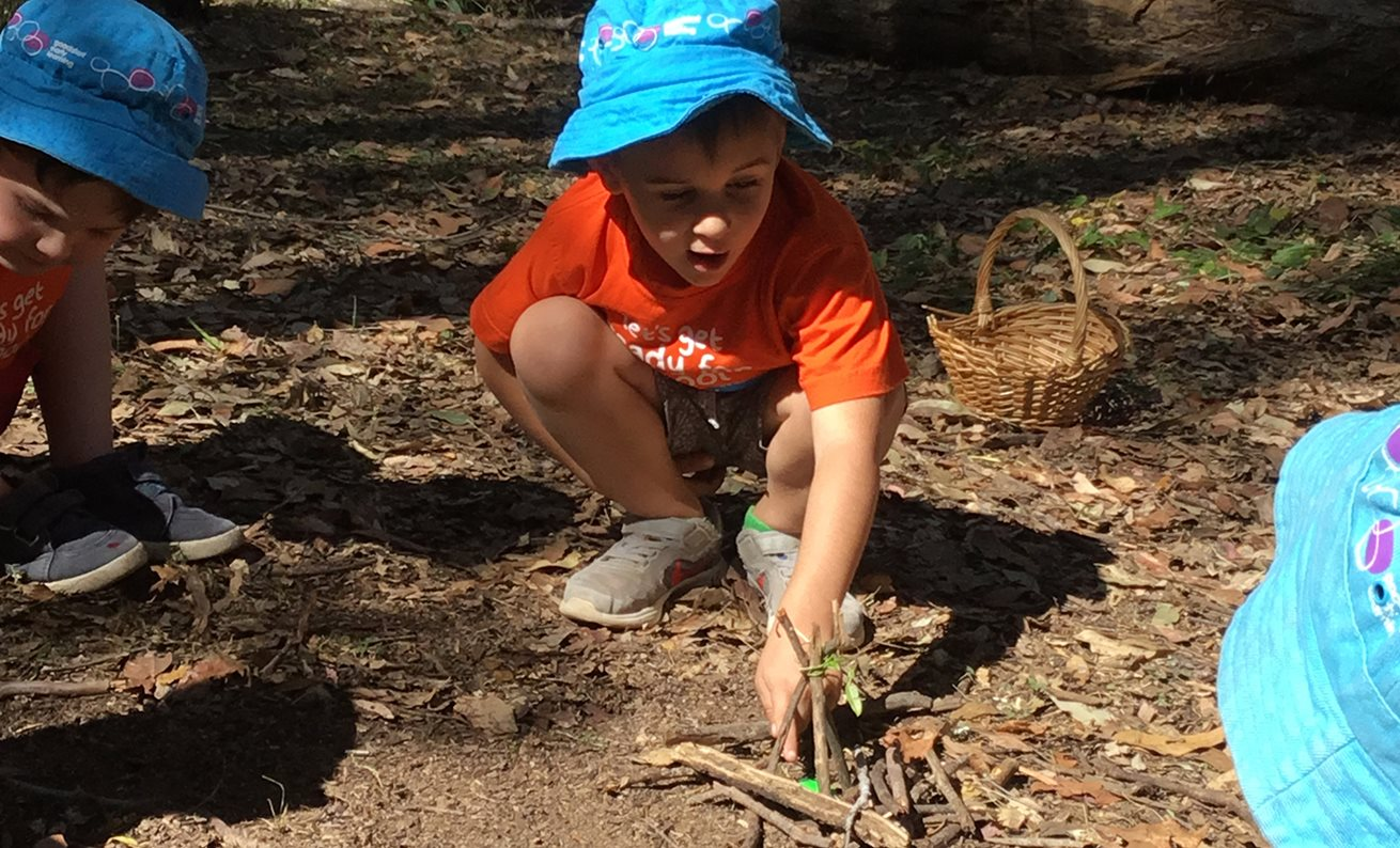 Forest School connects with nature at Shailer Park