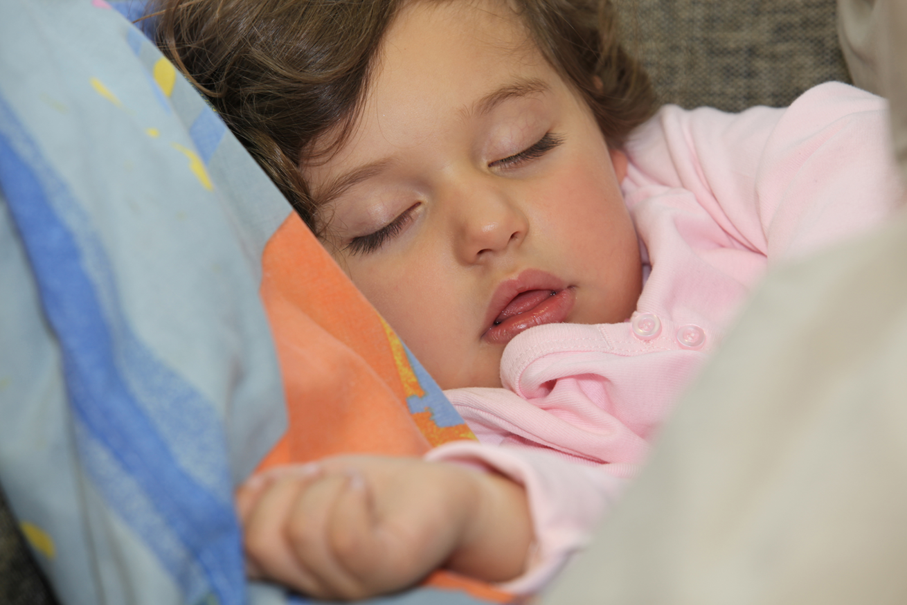 Sleep for children aged three to five years old