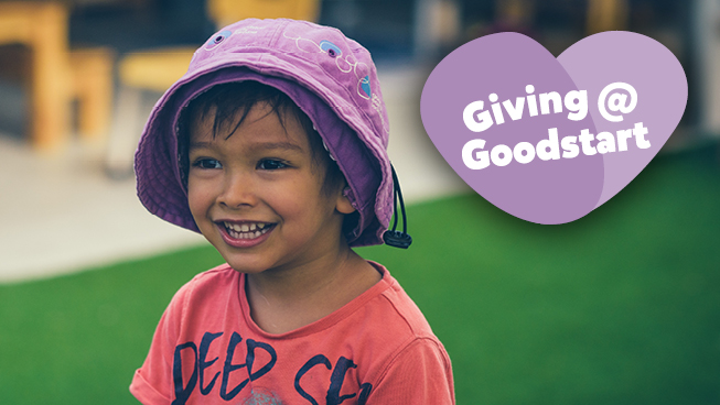 Giving@Goodstart for Australia's children