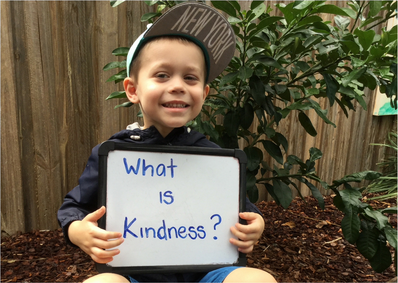 Children spread kindness through their community