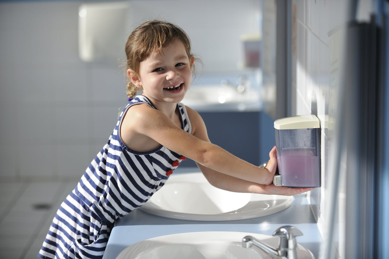 Teach your child to be a hand washing superstar