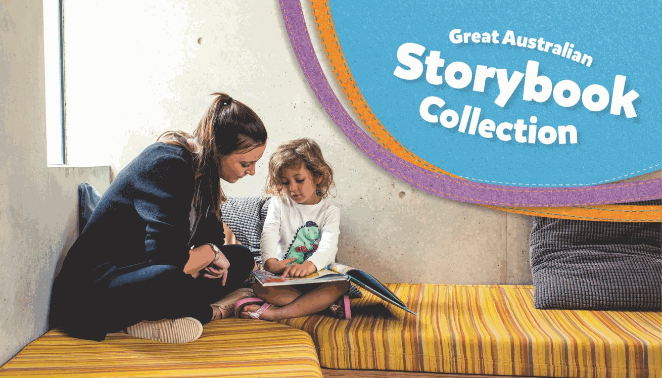 Proudly supporting the Great Australian Storybook Collection.