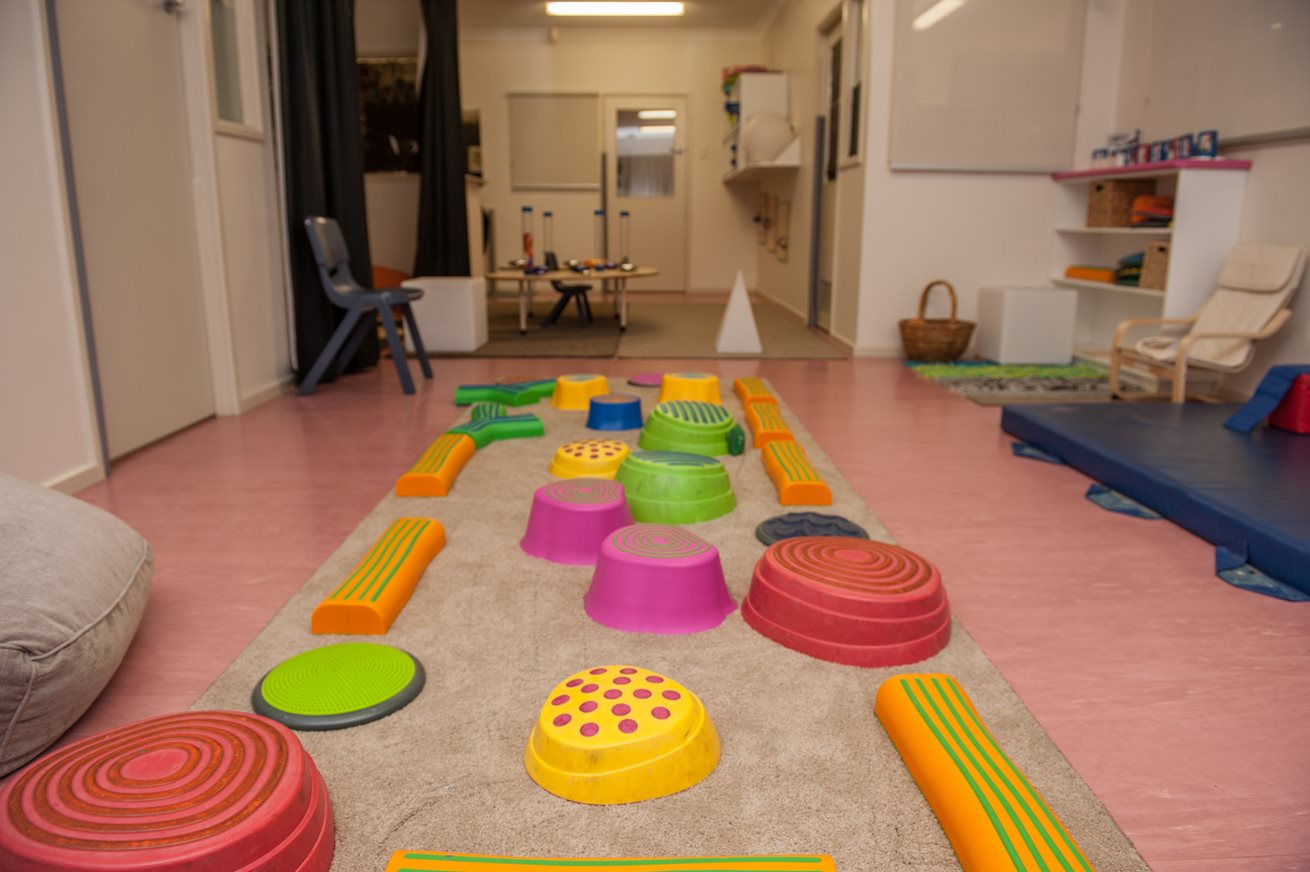 Sensory space offers oasis within centre