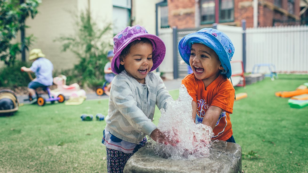 Learning and play are a natural fit for toddlers