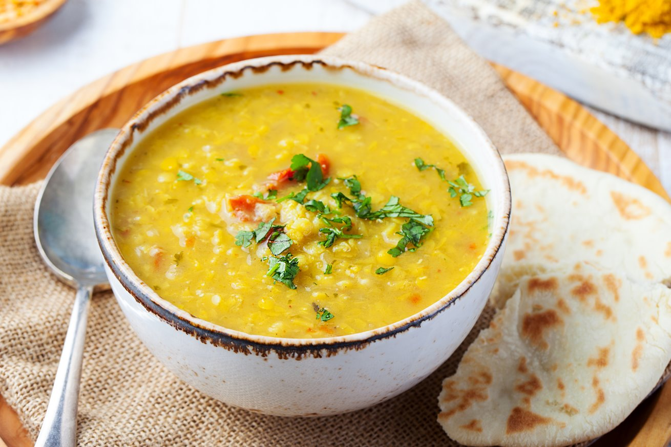 Dhal with vegetables