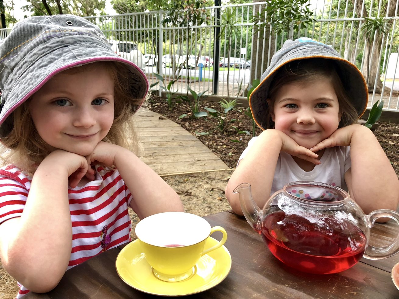 Sharing of tea creates special moments