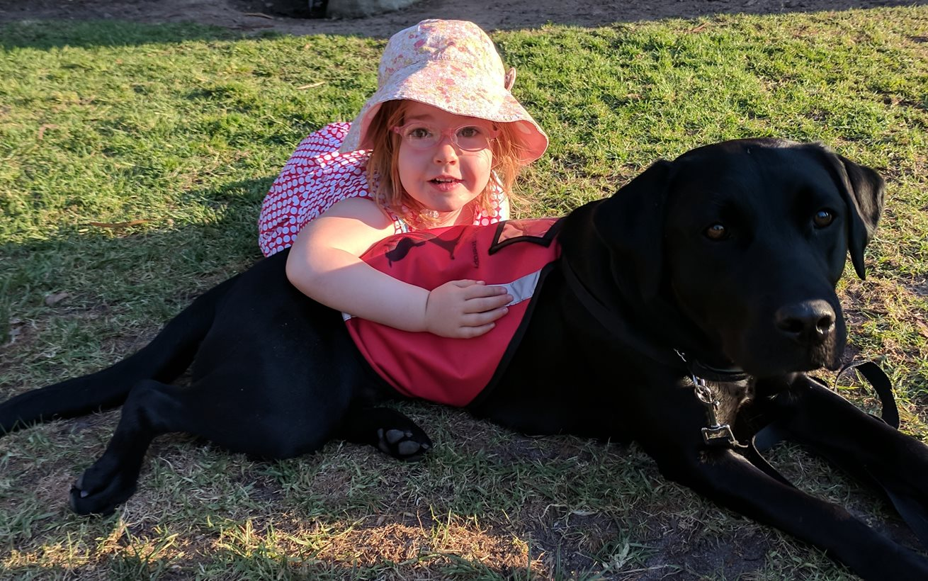 Girl's best friend sought for four-year-old Chloe